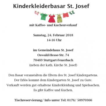 Kinderkleiderbasar St. Josef