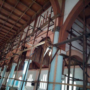 Renovierung der Kathedrale von Eséka