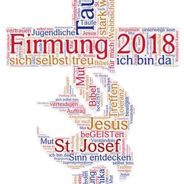 Firmung im Schuljahr 2017 / 2018 nur in Feuerbach