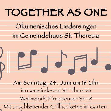 Ökumenischer Liedernachmittag