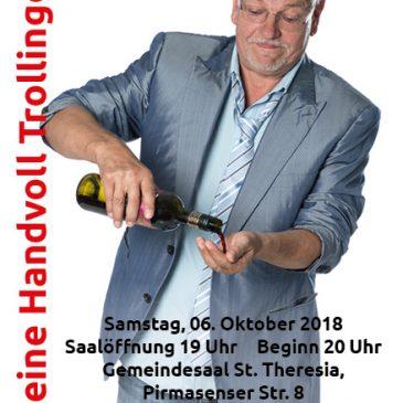 Werner Koczwara am 06.10.2018