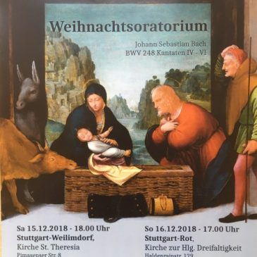 Weihnachtsoratorium (J.S. Bach) in St. Theresia
