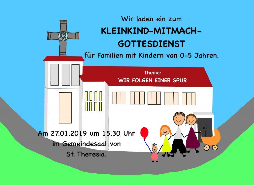 Kleinkind-Mitmach-Gottesdienst @ St. Theresia - Gemeindesaal