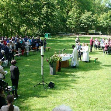 Christi Himmelfahrt im Waldheim Lindental