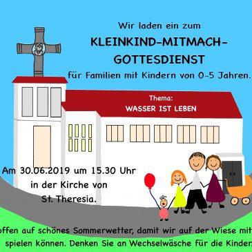 Kleinkind-Mitmach-Gottesdienst