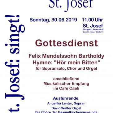 Großes Chortreffen in St. Josef