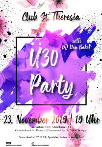 Ü30 Party St. Theresia