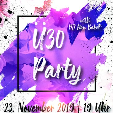 Ü30 Party in St. Theresia am 23. November 2019