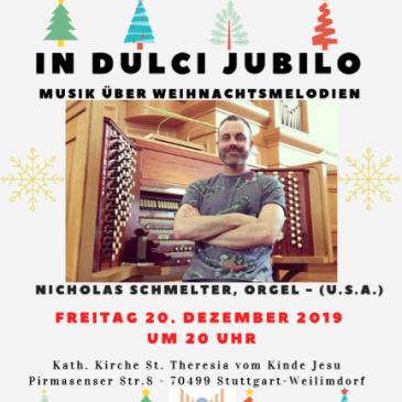 In dulci jubilo – Weihnachtliche Orgelmusik aus Amerika