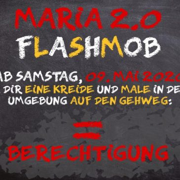 Stiller Flashmob Maria 2.0