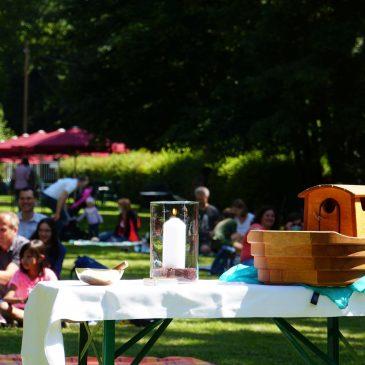 Herzliche Einladung zu den nächsten Picknick-Gottesdiensten für Familien!