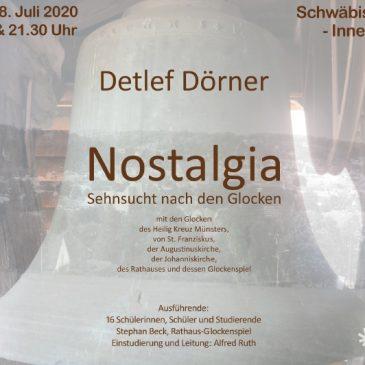 Nostaliga – Glocken in Gmünder Kirchen spielen eine Komposition von Detlef Dörner