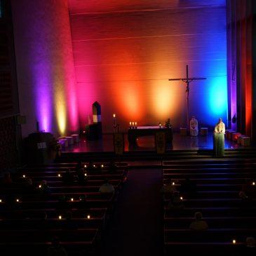 Lichtfeier zu Kirchweih in der Salvatorgemeinde