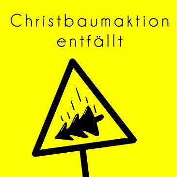 Christbaumaktion 2021 in Weilimdorf findet nicht statt