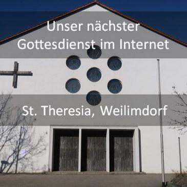 Die Gottesdienste aus St. Theresia – live im Internet mitfeiern