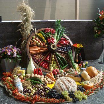 Picknickgottesdienst Salvator Ernte-DANK-fest am 3. Oktober um 11 Uhr im Pfarrgarten