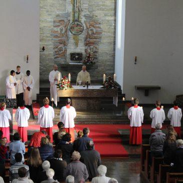 Bilder vom Patrozinium in St.Theresia